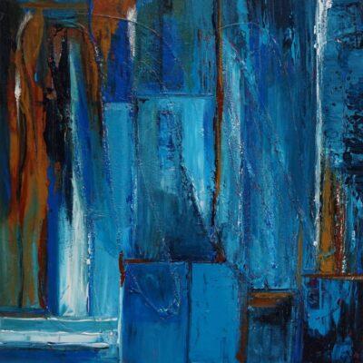 Stoer - Acryl op doek - 50 x 50 - €125,-