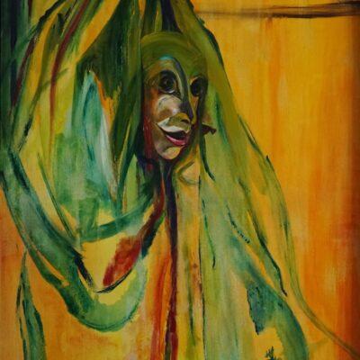 Verrassing - Acryl op doek - 80 x 100 - €550,-